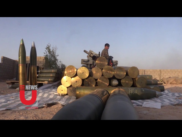 Unioz camera keeps up with the battles of the Syrian army and its allies against a duel in Bu Kamal