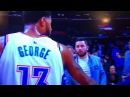 Paul George Curves Baker Mayfield Ignores his Existence