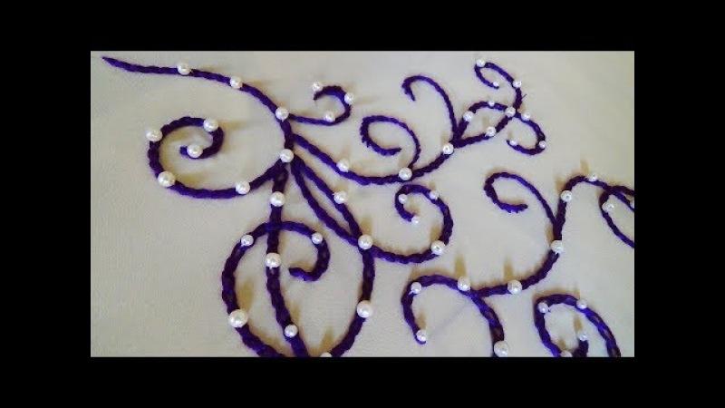 Hand Embroidery Chain Stitch