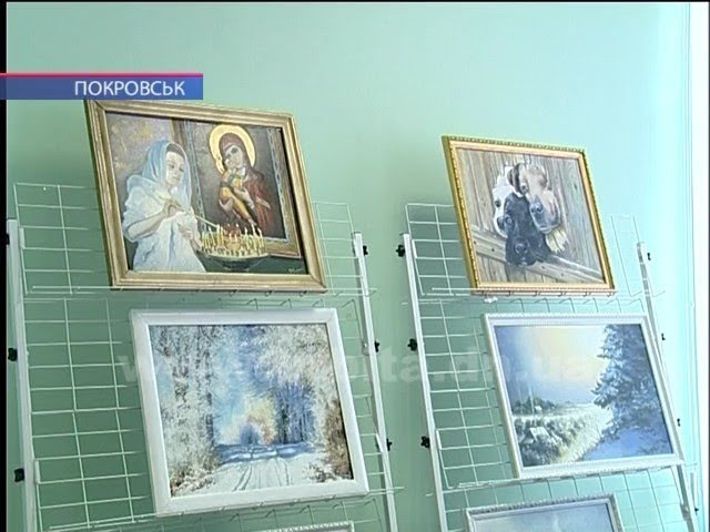 Яскрава виставка художника Володимира Чорного