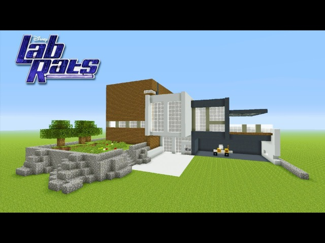 Minecraft Tutorial: How To Make The Lab Rats House
