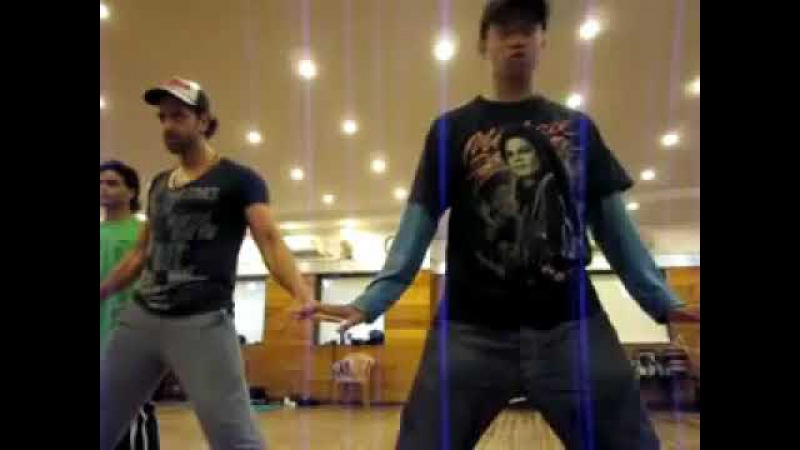 Hrithik roshan and paresh sir practice video