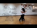 Ilya Dereshev Elena Chentaeva - SAMBA DEMO 1 - ZOUK SAMBA CLASSES IN IRKUTSK 2017