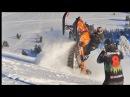 На снегоходе в Ергаки. Snowmobile in Siberia
