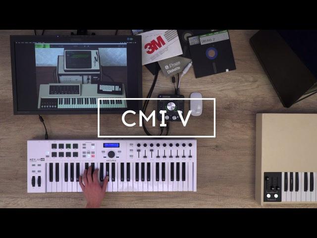 Arturia announces CMI V