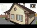 Проект семейного одноэтажного дома «Домик» B-308-ТП
