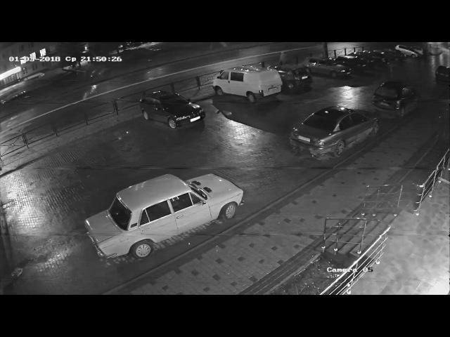 Смертельна аварія у Луцьку на Рівненській за участю таксі на єврономерах 03.01.2018