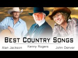 Kenny Rogers, Alan Jackson, John Denver Greatest Hits - Best Classic Country Songs of All Time