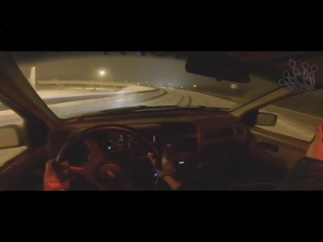 Зимний дрифт на бешеной скорости / Speed drifting
