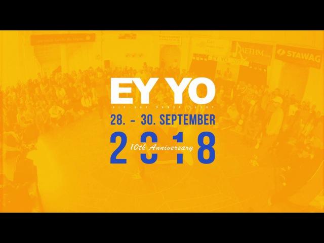 Miracle Joe Dee vs Nora Yarah | HIP-HOP Final | EY YO 2017