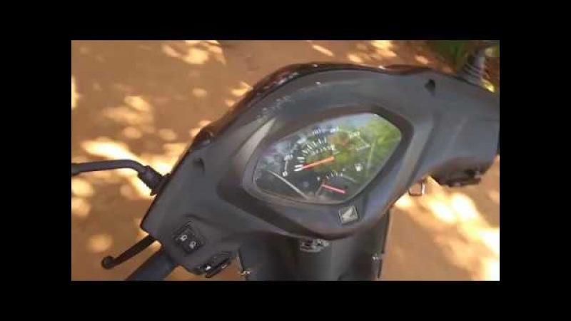 Riding bike in Anjuna (Goa) / Прогулка по улочкам Анджуны (Гоа) на мопеде :)