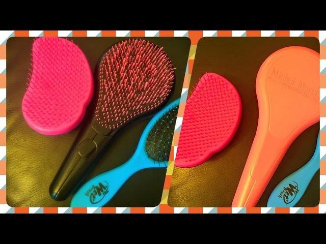 Уход за волосами, расчески,wet brush, tangle teezer и еще! часть 1