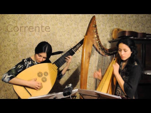 Giovanni Pittoni - Sonata per tiorba e basso continuo. Marina Belova, Yulia Mesa Intriago