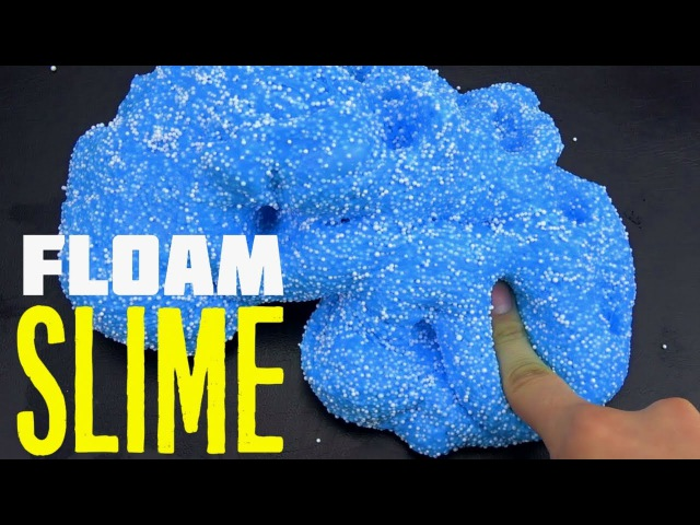 Crunchy Dried Floam Slime | How To Make DIY Crunchy Slime without Borax