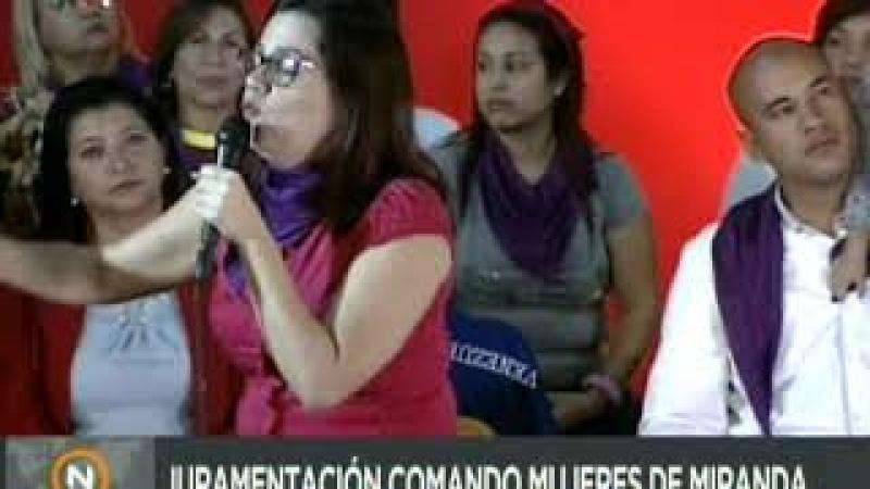 Ministra Blanca Eekhout: El imperialismo quiere volver hacer esclavos a los venezolanos