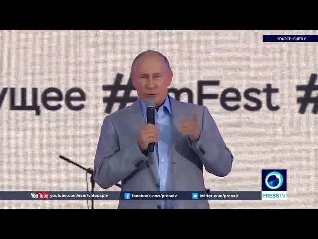 When Russian President Putin speaks English
