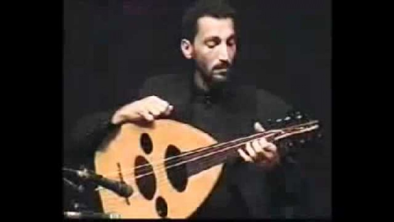 Naseer Shamma - Virtuosismo con el oud (laud árabe) - Incredible left hand.