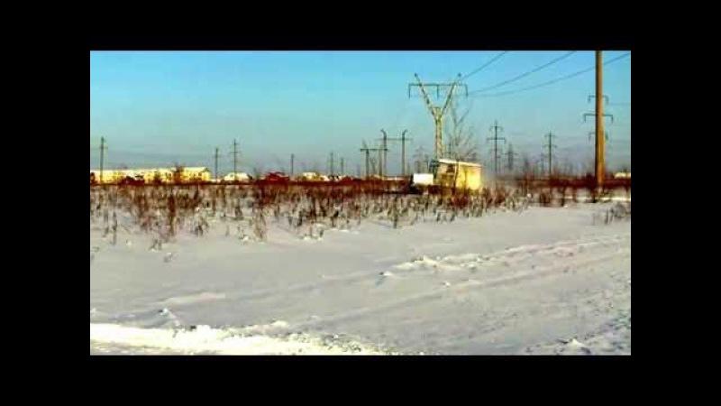 Автолюбитель из Сызрани продает самодельный гусеничный вездеход