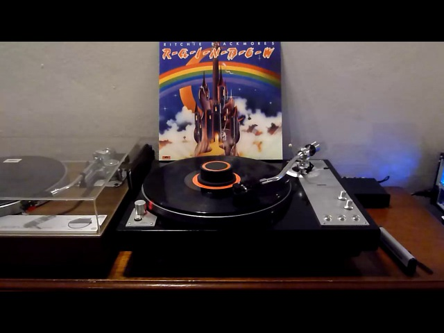 Ritchie Blackmore's Rainbow - Full Album - Vinyl RIP - Polyvox TD5000AT95ePre Phono Box Project