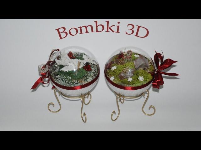 Krok po kroku świąteczna bombka 3D -poradnik