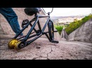 Самый ОПАСНЫЙ СПУСК на свете НА BMX! (MOSTDANGEROUSBMXHILLBOMBEVER!)