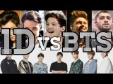 ONE DIRECTION VS BTS