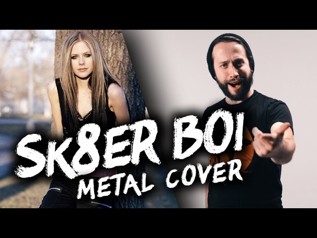 Sk8er Boi - Avril Lavigne (POP PUNK/METAL VERSION) Cover by Jonathan Young Lee Albrecht