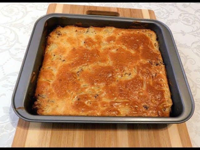 Канал просто вкусняшки - Самое удачное тесто для заливных пирогов!