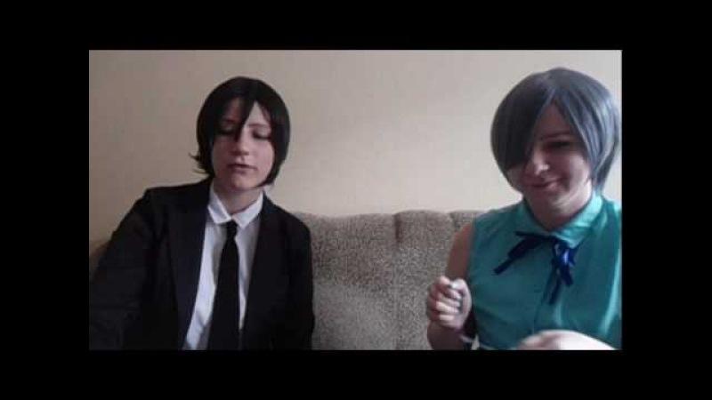 Ciel and Sebastian - вопрос ответ