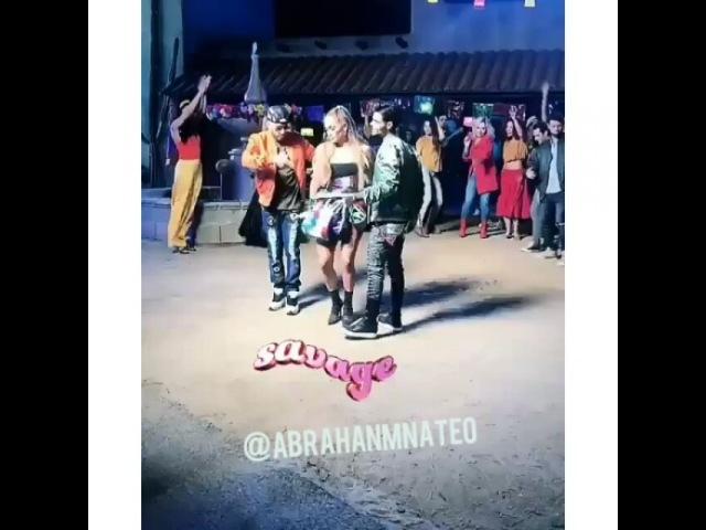 "ABRAHAM MATEO on Instagram: ""Savage 💜😍🔥 @abrahammateo @abrahammateo  @jlo @jlo @yandel @yandel  seacaboelamor seacaboelamor  abrahammateo @abrah..."