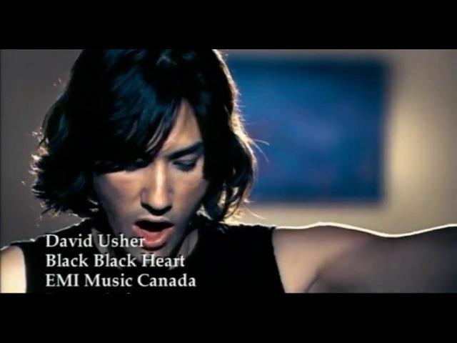 David Usher - Black Black Heart (Rock Version)