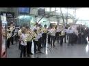 Flashmob par l'association REVES EN CORS et les cornistes du Nord Pas de Calais