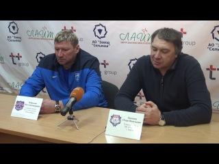 Пресс-конференция И.Загоскина и О. Чубинского