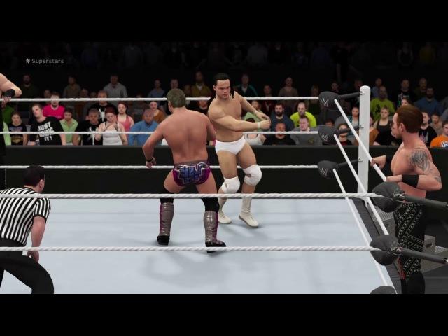 JeriKO vs Bo Dallas Heath Slater