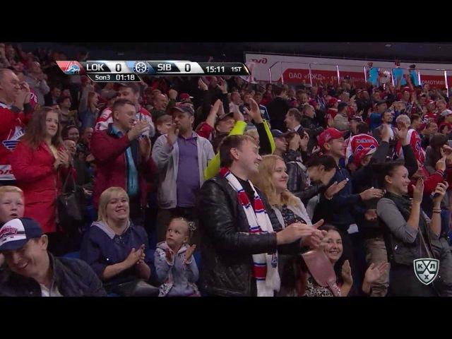 Моменты из матчей КХЛ сезона 16/17 • Гол. 1:0. Чистов Станислав (Локомотив открывает счет матча в большинстве 05.09