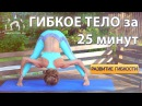 ГИБКОЕ ТЕЛО за 25 минут / Работа над гибкостью и растяжкой