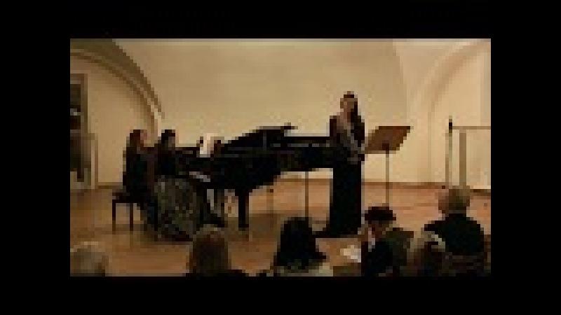Elizaveta Bokova O. Messiaen Trois Melodies Мессиан Три мелодии для сопрано Елизавета Бокова