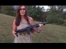 M-92 Full Auto Mag Dump with Fireballs!