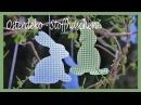 DIY Osterdeko Frühlingsdeko selber machen Oster Hasen aus Stoff und Vlieseline