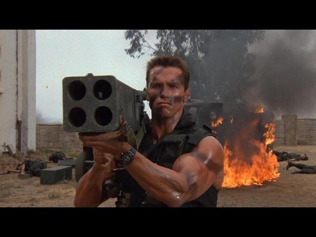 Commando (1985) - Arnold Schwarzenegger, Rae Dawn Chong, Dan Hedaya.