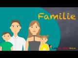 Learn German | German Speaking | Meine Familie | My Family | Sprechen - A1