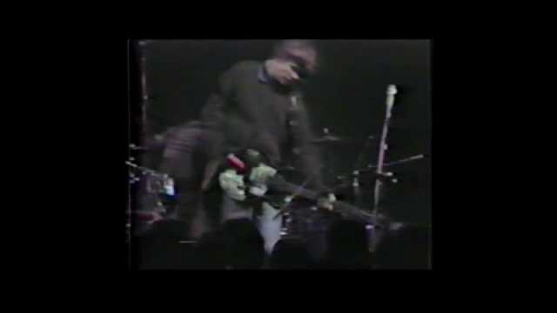 Sonic Youth (live concert) - November 8th, 1983, Odissea 2001, Milan, Italy