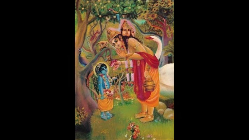 Brahma Samhita - Recited by Yashoda Kumar Dasa
