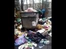 Як комунальники забувають прибрати сміття у столиці Київ