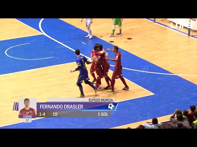 Santiago Futsal - ElPozo Murcia. Jornada 24