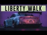 LIBERTY WALK CAR MEET (LIGHTS MOD) ( CINEMATIC / 4K / 21:9 ) @CROWNED_YT