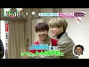 (180221) BTS JHOPE and JIMIN on Japanese TV ZIP Colaboration Dance with High School Student