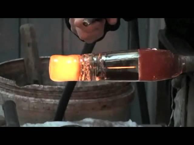 Video creazione acquario artiginale veneziano lavorazione originale Murano