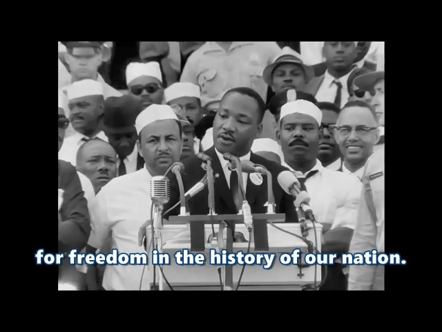 I Have a Dream speech by Martin Luther King Jr HD subtitled Remastered