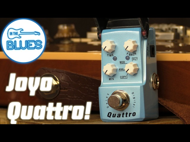 Joyo Ironman Quattro Digital Delay